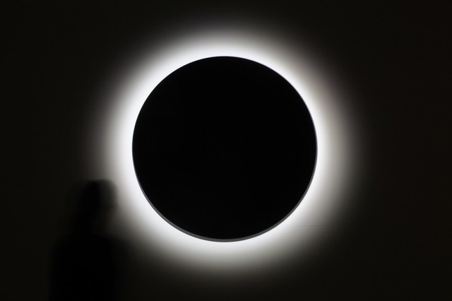 , 'Eclipse II,' 2012, CIBRIÁN