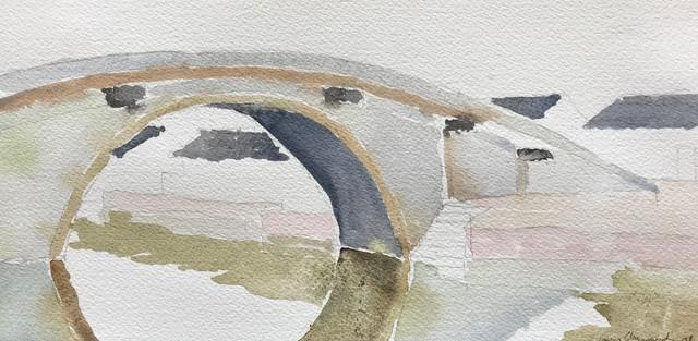 , 'Bridge at Zhouzhang, China ,' 2008, Andra Norris Gallery
