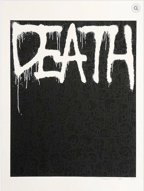 Takashi Murakami, 'Death (Black)', 2018, MSP Modern