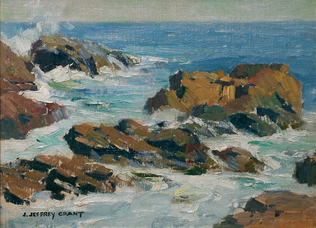 James J. Grant, 'Seascape', 19th -20th Century, Vose Galleries