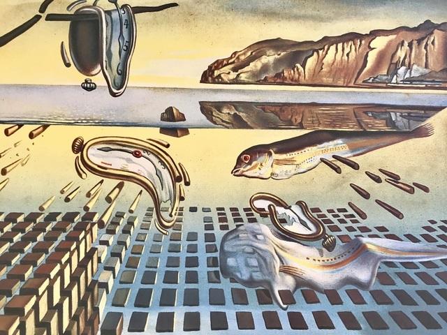 Salvador Dalí, 'La désintégration de la persistance de la mémoire', ca. 1980, ByNewArt