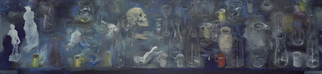 Jim Dine, 'The Studio at Night in the Woods', 1977, Yale University Art Gallery