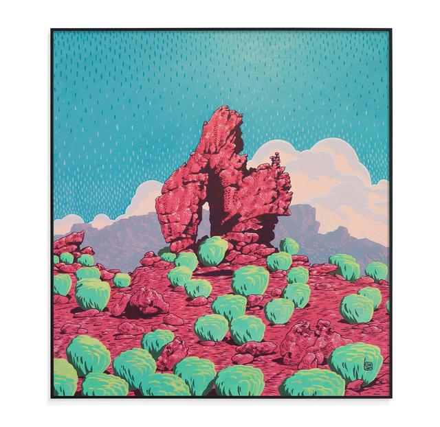 , 'Cedarberg sandstone formations III,' 2017, Absolut Art Gallery