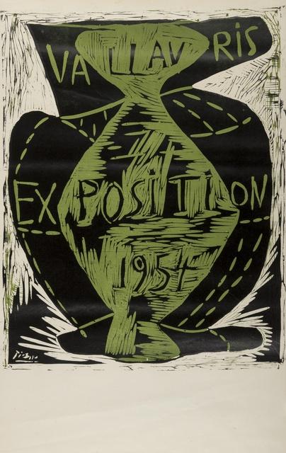 Pablo Picasso, 'Vallauris Exposition (Baer 1026B)', 1954, Forum Auctions