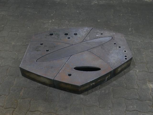 David Rabinowitch, 'Metrical Construction', 1974, Sculpture, Hot rolled steel, Galerie Floss & Schultz