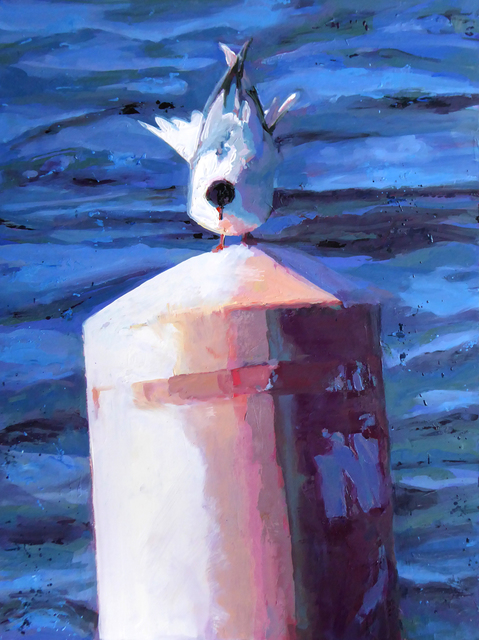 , 'Riding The Current,' , The South Street Gallery