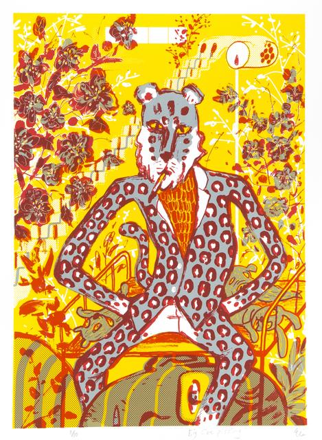 , 'Big Cat Pissing,' 2015, Hong Kong Open Printshop