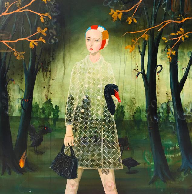 Anne Siems, 'Black Swan', 2019, Bruce Lurie Gallery