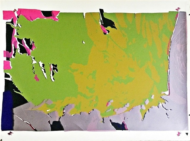 Larry Poons, 'Untitled from Conspiracy: The Artist as Witness (for the Chicago 7)', 1971, Alpha 137 Gallery