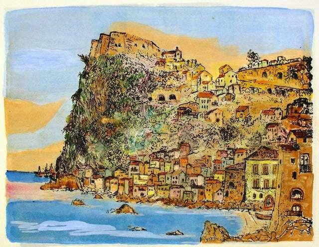 Giovanni Omiccioli, 'Scilla, Landscape', ca. 1970, Wallector