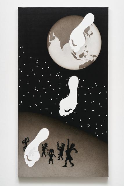 , 'Genesis: Die drei Schritte des Trivikrama (Indien),' 2011, Galerie Judith Andreae