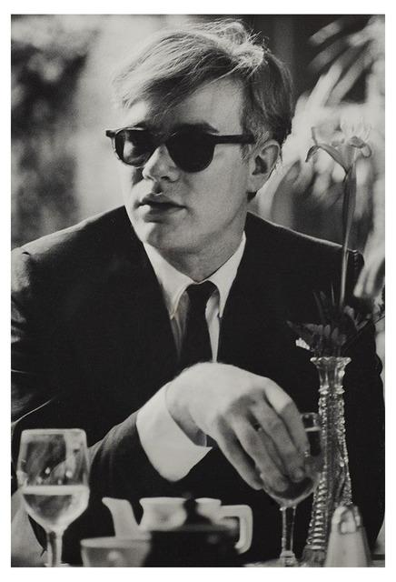 Dennis Hopper, 'Andy Warhol (at table) ', 1963, UTA Artist Space
