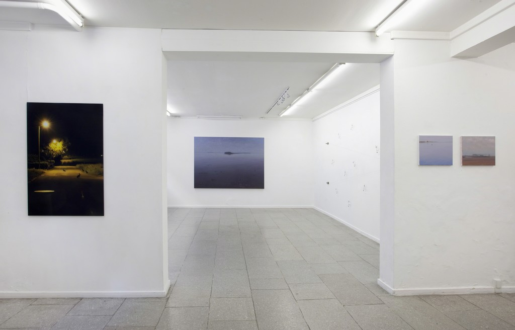 Optical Memory. Photography by Maj-Britt Boa, Paintings by Ulrik Møller, installation by Otavio Schipper.