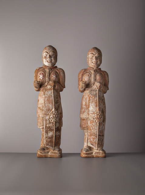 , 'Warriors,' China, Northern Qi period (549, 577AD), Vanderven Oriental Art