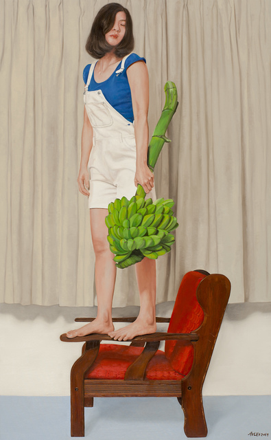 Chong Ai Lei, 'Girl With Bananas', 2019, A3 Arndt Art Agency