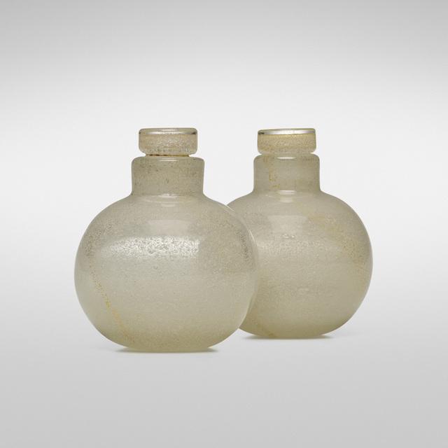 Carlo Scarpa, 'Bollicine perfume bottles, model 651', 1932-33, Wright