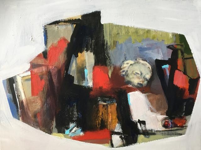 , 'History of artist's studio ,' 2018, Agnès Szaboova Gallery