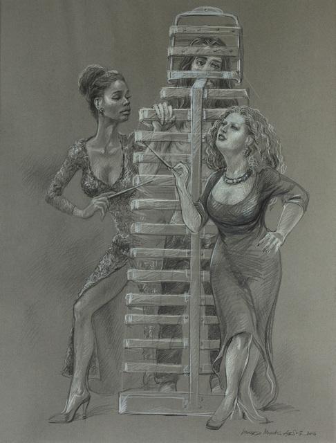 , 'Inverso Mundus, Women's Labor #6,' 2016, Mobius Gallery
