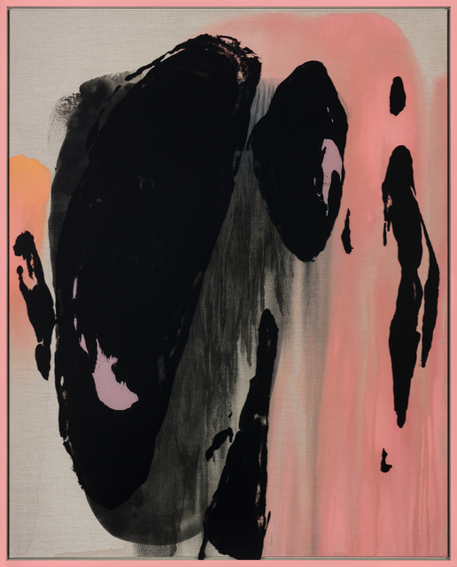 Michael Müller, 'Tsingtao', 2019, Painting, Acrylic on glass and canvas, Galerie Thomas Schulte