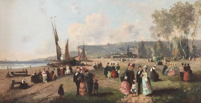 Guillaume-François Colson, 'Sur la plage', 1800-1850, Alon Zakaim Fine Art