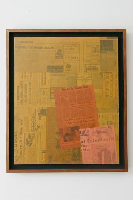 , 'York No. 31,' 1965, kurimanzutto