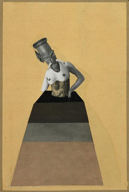 , 'Ohne Titel, aus der Serie: aus einem ethnographischen Museum (Untitled, from the series: From an Ethnographic Museum),' 1929, Whitechapel Gallery