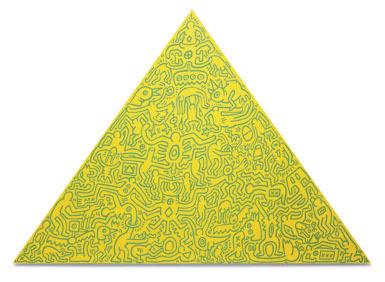Keith Haring, 'Pyramid', 1989, Schellmann Art