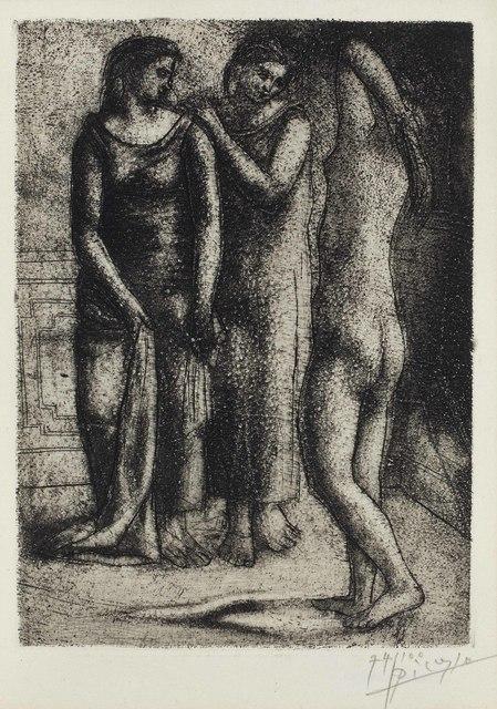 Pablo Picasso, 'Deux Femmes Regardant un Modèle Nu', 1922-23, Christie's