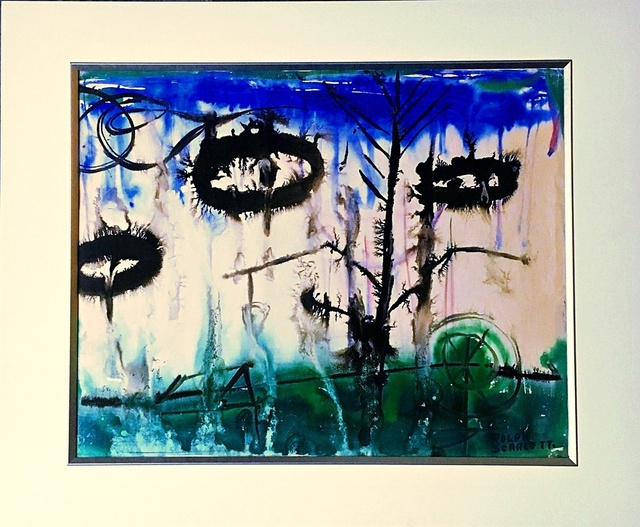 , 'Untitled Abstract Expressionist Painting  ,' ca. 1960, Alpha 137 Gallery