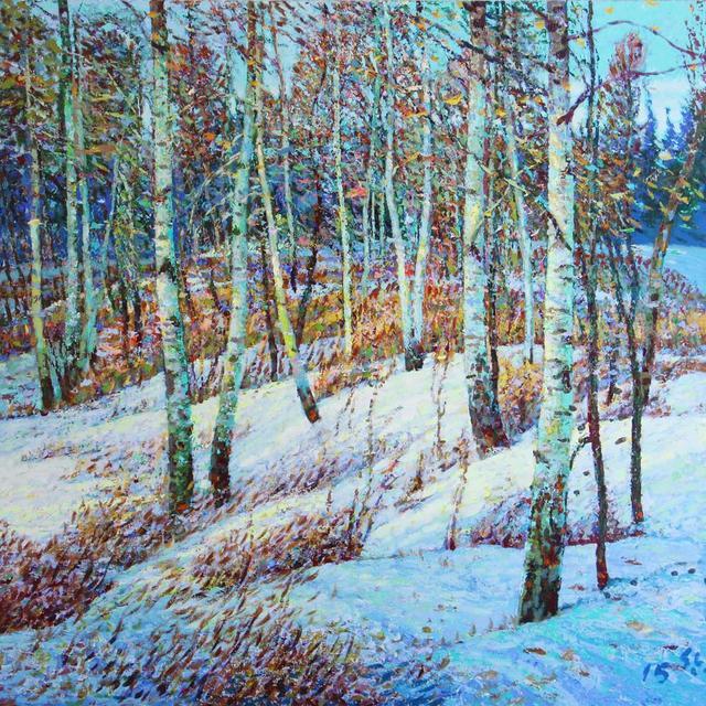 Shi Le, 'Baton Trail - Winter #3', Bau-Xi Gallery