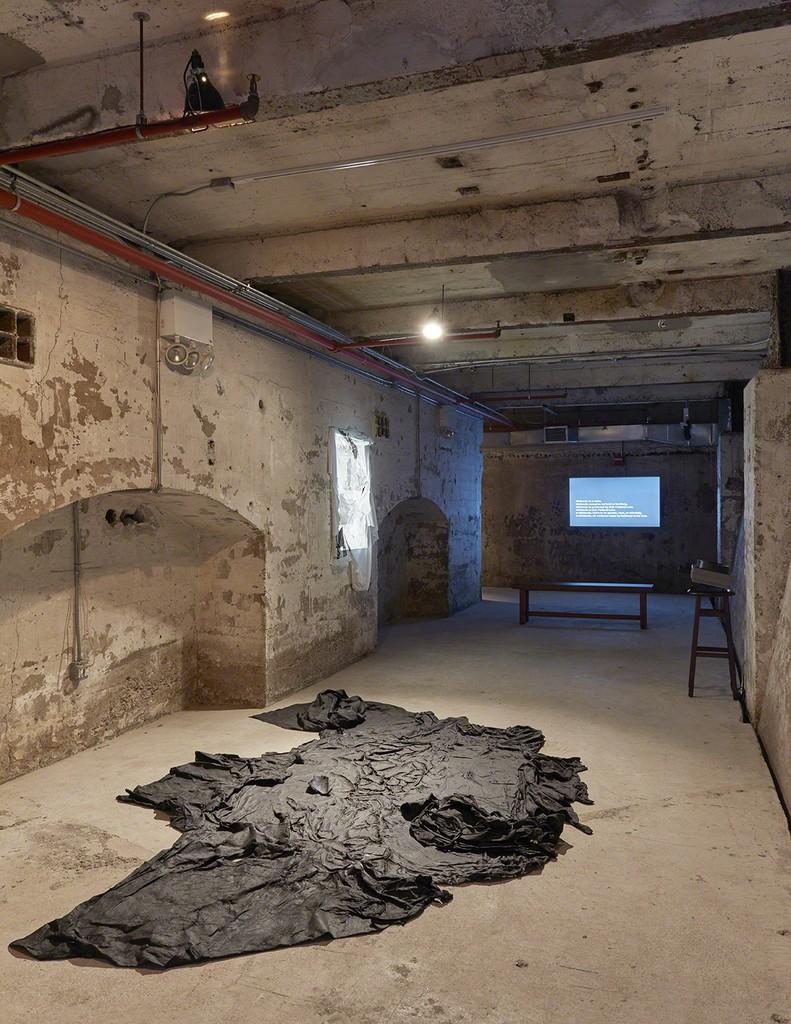 Installation view, In Practice: Another Echo, SculptureCenter, New York, 2018. Photo: Kyle Knodell