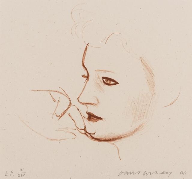 David Hockney, 'Celia Looks (Tokyo 247)', 1980, Forum Auctions
