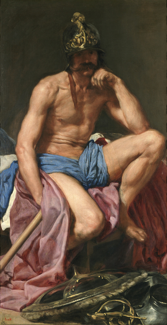 , 'Mars,' ca. 1641, Gemäldegalerie Alte Meister