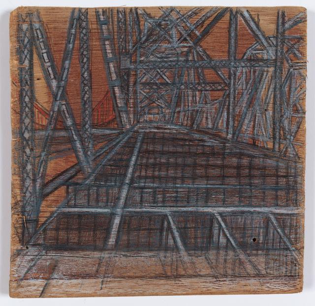 , 'Carquinez Bridge Landscape,' 2010, Creativity Explored