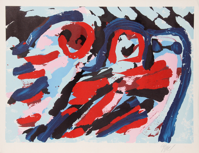 , 'Untitled - Three Smiling Faces,' ca. 1980, RoGallery