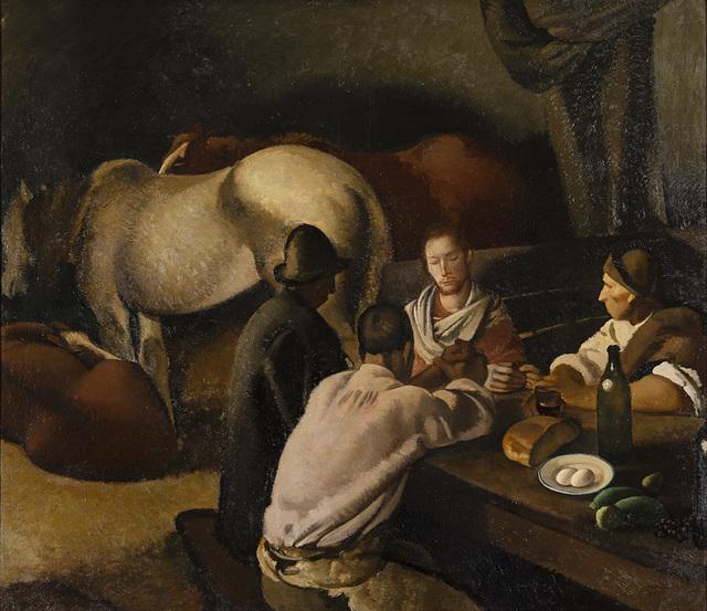 Felice Carena, 'La cena di Emmaus', 1922, Il Ponte