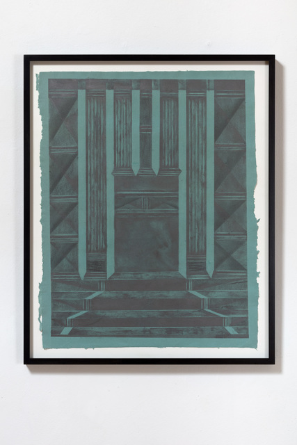 Andreas Werner, 'all I believe that happened there was vision IV', 2019, VILTIN Gallery