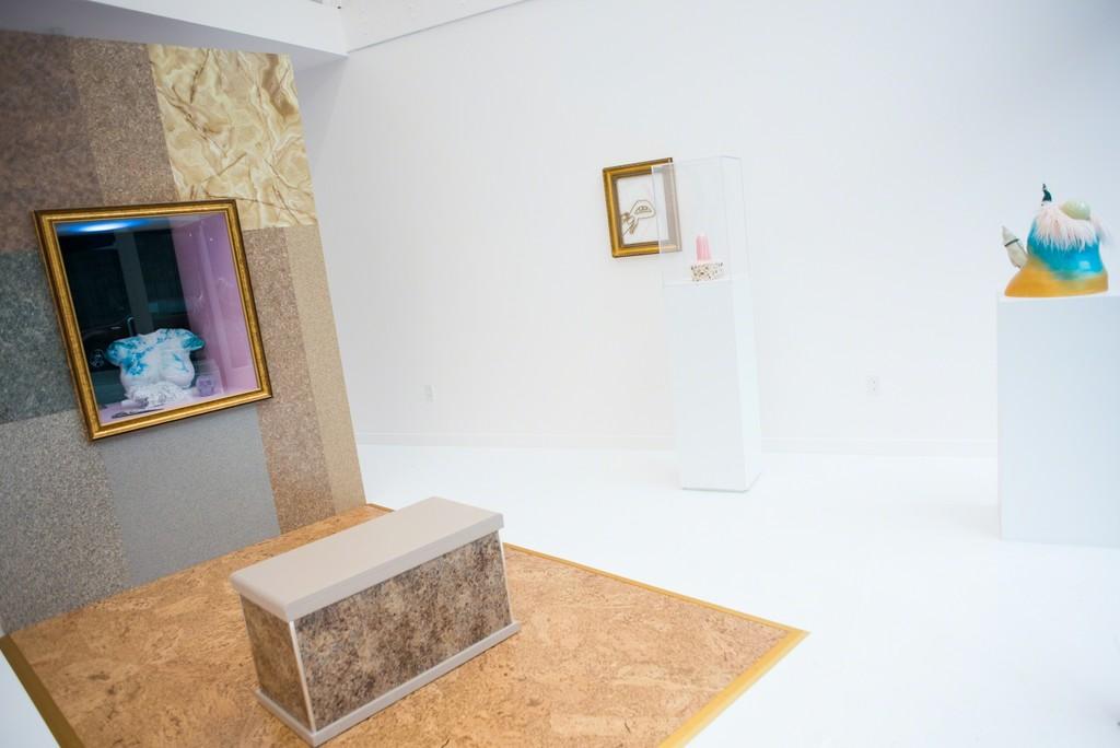 """Hadar Kleiman, """"PREMIUM EMPORIUM,"""" 2017, installation view."""