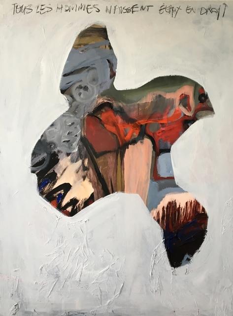 , 'Human rights,' 2018, Agnès Szaboova Gallery