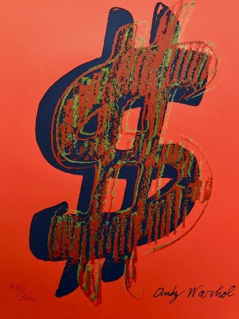 , 'Dollar Sign,' 1986, ByNewArt