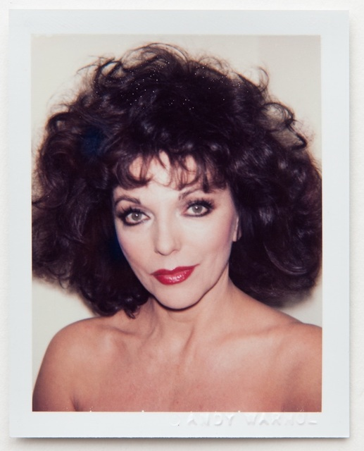 Andy Warhol, 'Andy Warhol, Polaroid Portrait of Joan Collins', 1985, Hedges Projects