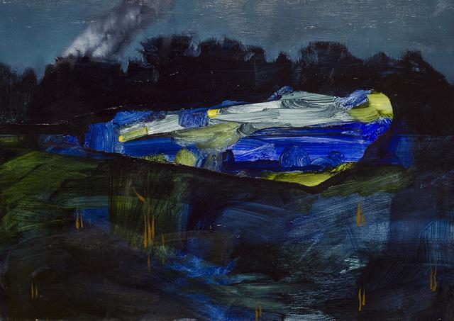 , 'Blue Drift,' 2014, Accesso Galleria