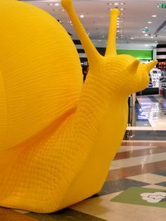 Cracking Art Group, 'Snail (Large) (Yellow)', Galleria Ca' d'Oro
