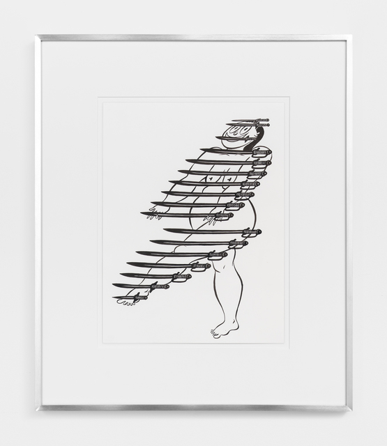 , 'Fatebe Arms Display,' 2017, Magenta Plains