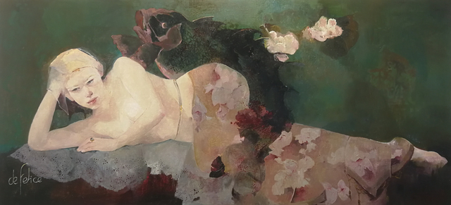 Françoise de Felice, 'Koi', 2019, Galerie Calderone