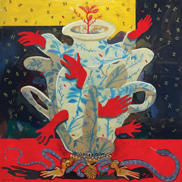 , 'The Red Hand Grail,' 2020, 99 Loop Gallery