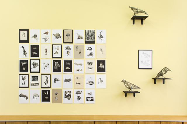 , 'Birds in the park,' 2015, Meyer Riegger