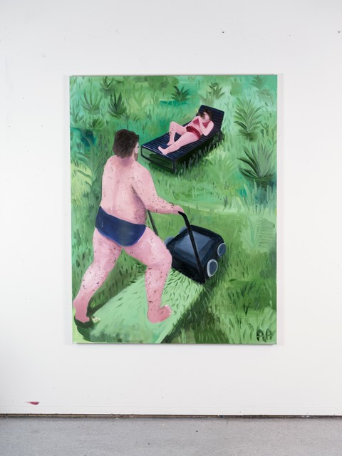 , 'The Lawnmover,' 2018, Kristin Hjellegjerde Gallery