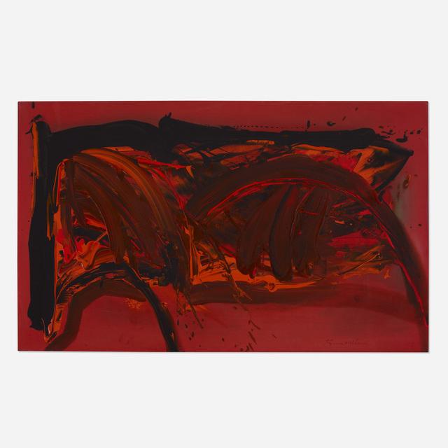 Matsumi Kanemitsu, 'Sunset Fox', 1971, Wright