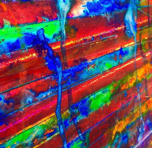 , 'Untitled (Acid Flag II) detail 1,' 2017, ArtHelix Gallery